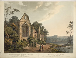 Part of Tintern Abbey, Monmouthshire